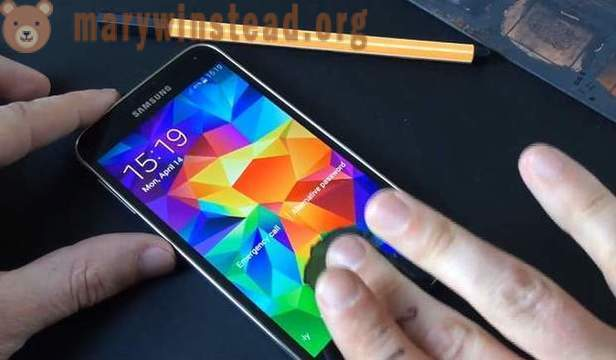 Hackers tricked Fingerprint Scanner Samsung Galaxy S5
