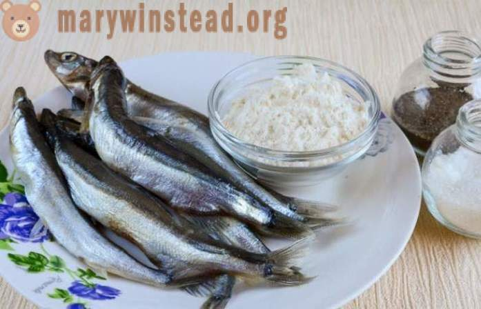 Clean capelin from the bones quickly and easily