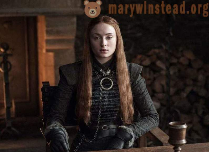 Sophie Turner told curious details about the shooting of the series