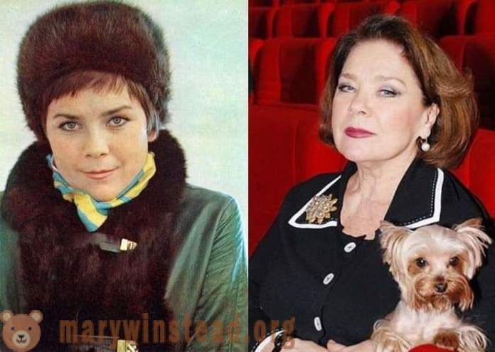 Larisa Golubkina: People's Artist of the RSFSR, which calls itself an actress one role