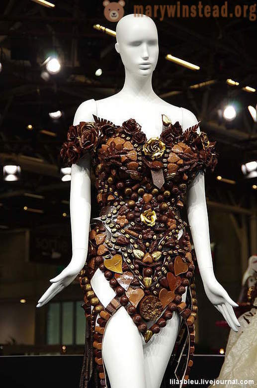 As in Paris, an exhibition of chocolate in 2014