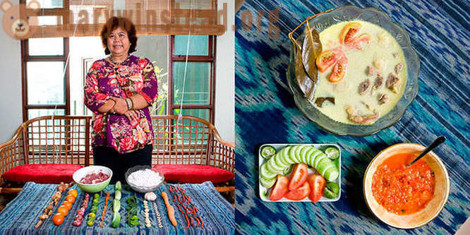 Grandma's cooking around the world