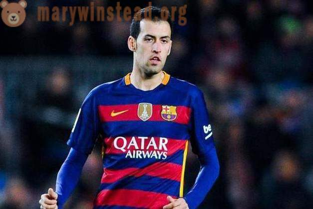 Spanish football player Sergio Busquets: biography, sports career, personal life