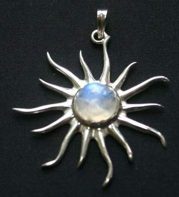 Moon rock. Jewelery with moonstone